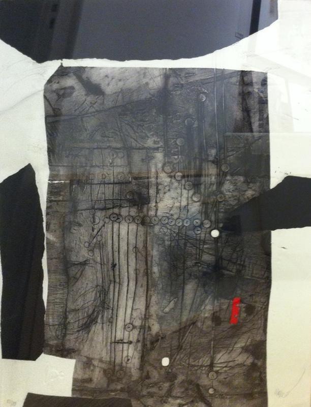 Antoni CLAVÉ - Print-Multiple - Composition noire