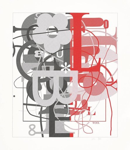 Christopher WOOL - Print-Multiple - Untitled II