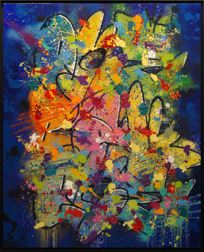 NEBAY - Painting - Au Dedans De Toi