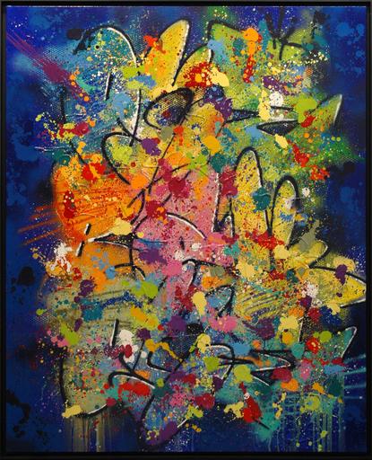 NEBAY - Gemälde - Au Dedans De Toi
