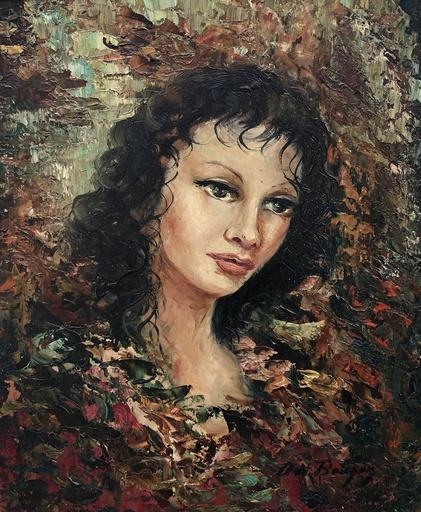 Anna DE BANGUY - Gemälde - Portrait