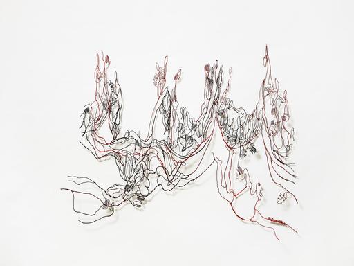 Beatrice DE DOMENICO - 雕塑 - Where the Wild Roses Grows
