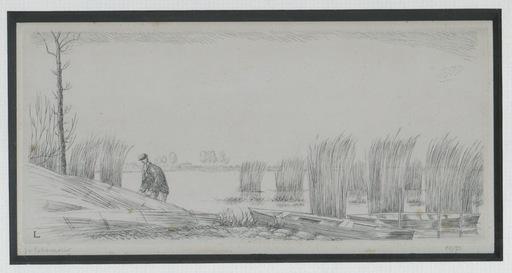 Jean Émile LABOUREUR - Grabado - GRAVURE 1932 SIGNÉE AU CRAYON NUM/22 HANDSIGNED NUMB ETCHING