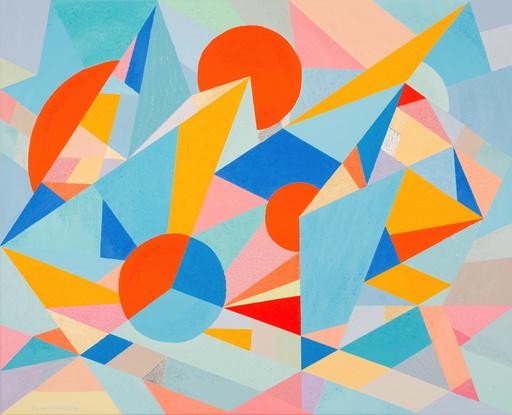Lorena ULPIANI - Painting - Universi