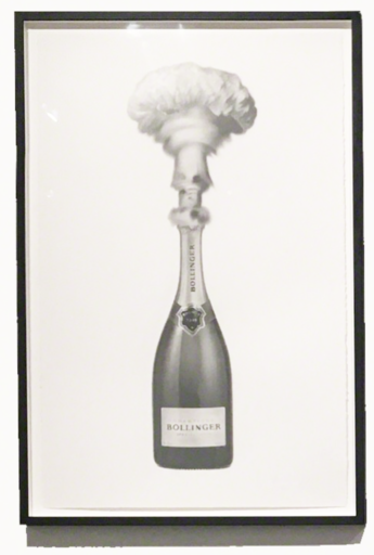 Eugenio MERINO - Disegno Acquarello - Celebrating destruction (Bollinger)