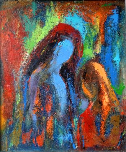 Ohanyan KAMSAR - Pittura - Colorfull Family