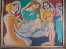 Béla KADAR - Painting - UNKNOWN