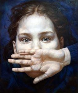 Jaroslav KURBANOV - Peinture - Schrei