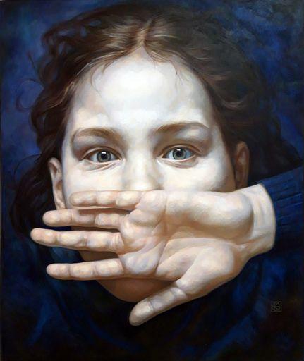 Jaroslav KURBANOV - Painting - Schrei