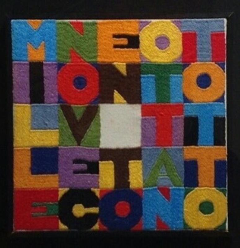 Alighiero BOETTI - Tapestry - MILLENOVECENTOOTTANTOTTO
