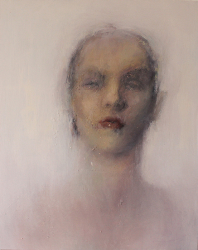 Hellen HALFTERMEYER - Painting - Visage 9