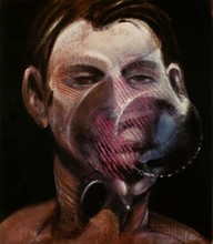 Francis BACON - Estampe-Multiple - Portrait of Peter Beard