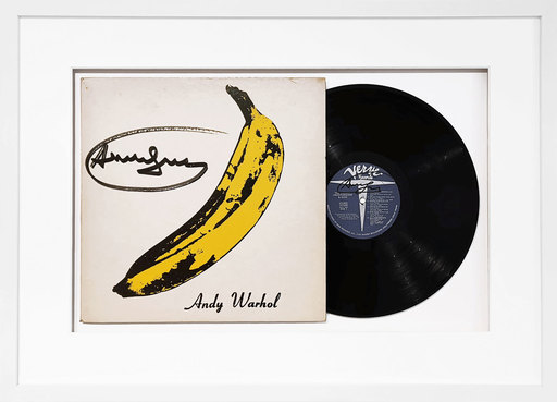Andy WARHOL - Print-Multiple - Banane - Velvet Underground & Nico