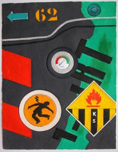 Peter KLASEN - Print-Multiple - Electric