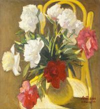Alexander TOKAREV - Pintura - Peonies