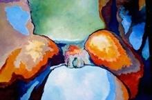 Claude THIEL DE NEUVILLE - Peinture - Passion isotherms n°24