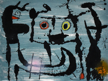 Joan MIRO - Estampe-Multiple - The Styx | Le Styx