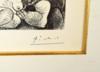 Pablo PICASSO - Stampa-Multiplo - Marin rêveur avec deux femmes, couple, spectatrice
