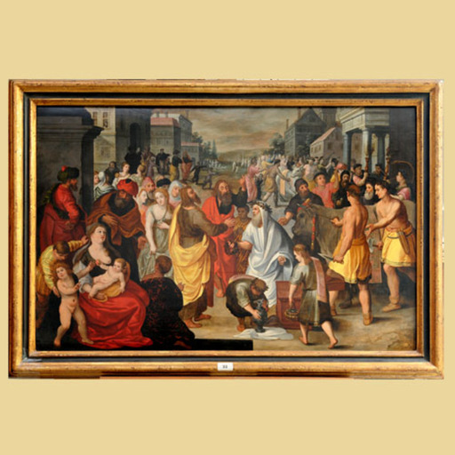 Marten PEPYN - Pintura - Saints Cosma et Damian