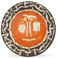 巴勃罗•毕加索 - 陶瓷  - Visage en gros relief