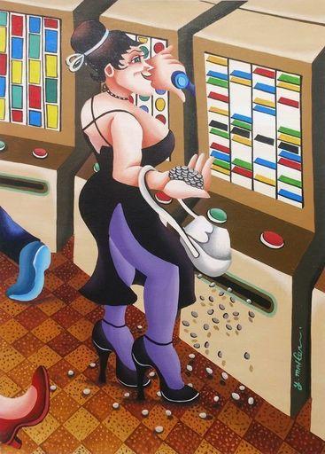 Yuval MAHLER - 绘画 - Casino Series