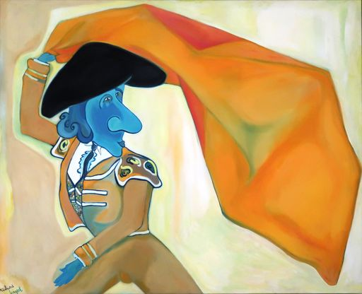 Richard BOIGEOL - Painting - Toreador