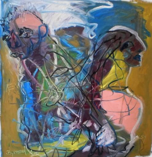 Bernard MOREL - Painting - ENTRELACS