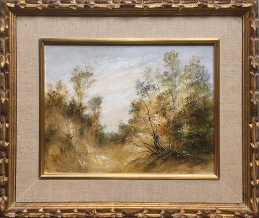 Jean-Michel NOQUET - Painting - Sous-bois