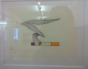 Tom WESSELMANN, SMOKING CIGARETTE #1