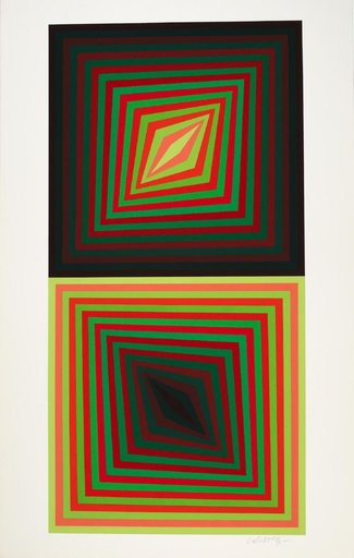 Victor VASARELY - Estampe-Multiple - Usteok