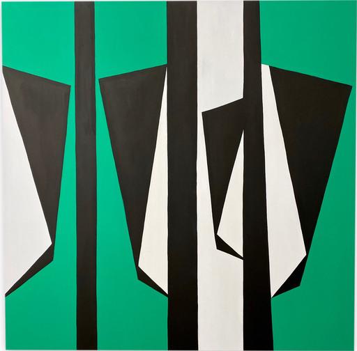 Ulla PEDERSEN - Pittura - Cut-Up Canvas 2003