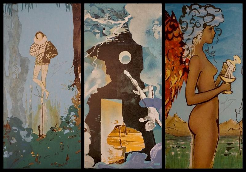 萨尔瓦多·达利 - 版画 - Trilogy of Love Suite