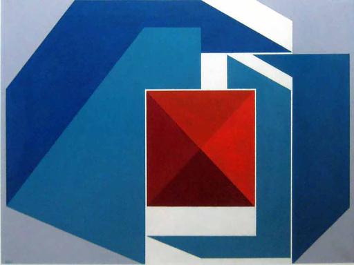 Gualtiero NATIVI - Gemälde - Senza titolo