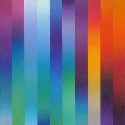 Catherine GUINOT - Painting - « Miroitements #02 »