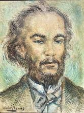 André THOMAS - Pintura - Portrait