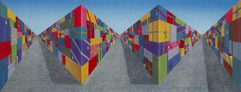 Patrick HUGHES - Print-Multiple - Gifts