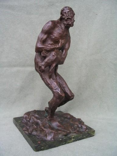 """Enrico PANCERA - Sculpture-Volume - """"Compassion""""!"""
