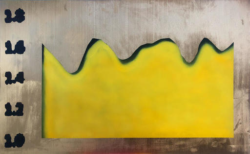 Caroline EBIN - Painting - « La Banane et le Cornichon »