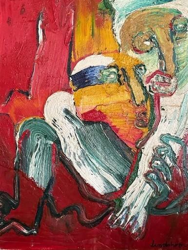 Bengt LINDSTRÖM - Pintura - Senza titolo