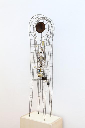 Peter VOGEL - Escultura - Verschlungener Kreislauf