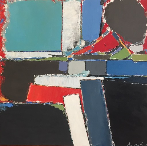 Anne-Gaëlle ARNAUD - Painting - Composition
