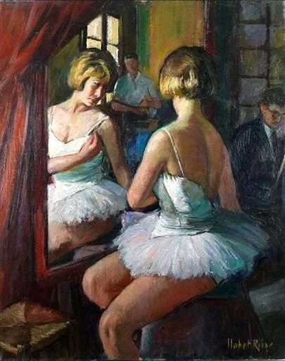 Sebastián LLOBET RIBAS - Gemälde - Ballet Lessons