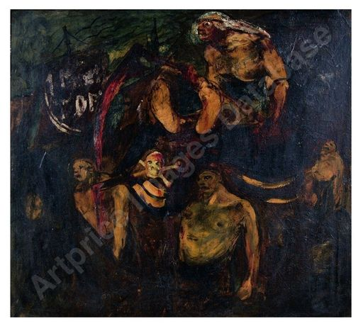 Lorenzo VIANI - Painting - Il Mietitore