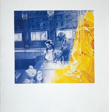 Jacques MONORY - Stampa Multiplo - La fille aux perles