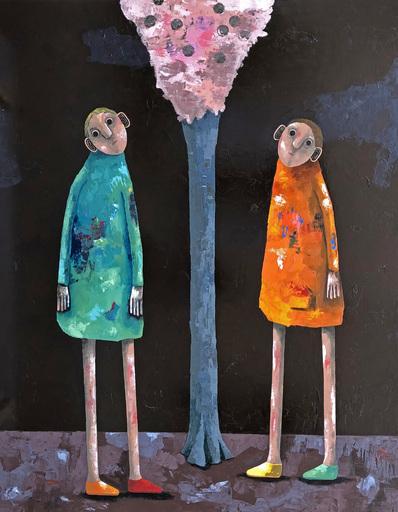 Pascal MARCEL - Painting - Nous l'avions planté ici