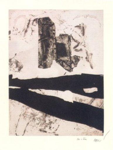 Antoni CLAVÉ - Print-Multiple - Estel blanc