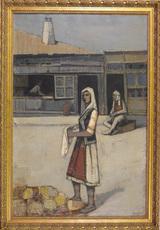 Hubertus Johannes MENGELS - Peinture - Macedonian Scene