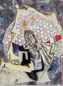 Frank STELLA - Dessin-Aquarelle - The Great Heidelburgh Tun, CTP 4