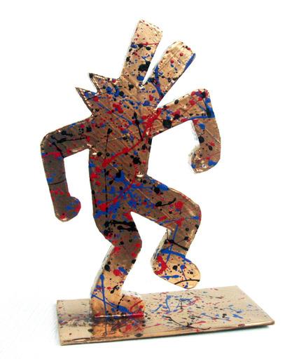 SPACO - Sculpture-Volume - Gold Dog dance