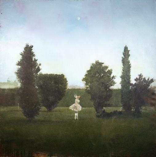 Peter HOFFER - Pittura - La Luna